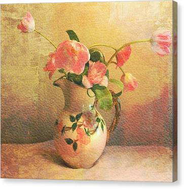 The Language Of Flowers Canvas Print by Kathy Bucari