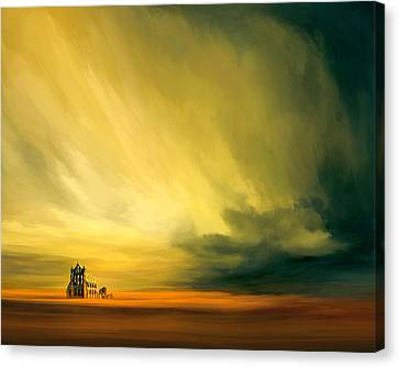 The Last Archive Canvas Print by Lonnie Christopher
