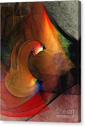 The Last Curtain Canvas Print by Karin Kuhlmann