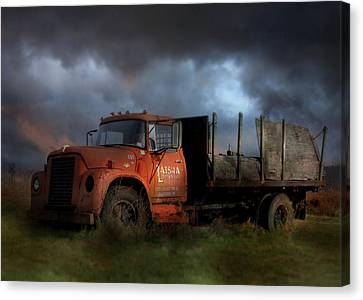 The Last Delivery Canvas Print by Lori Deiter