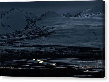 The Last Glimmer Canvas Print by Ron Day