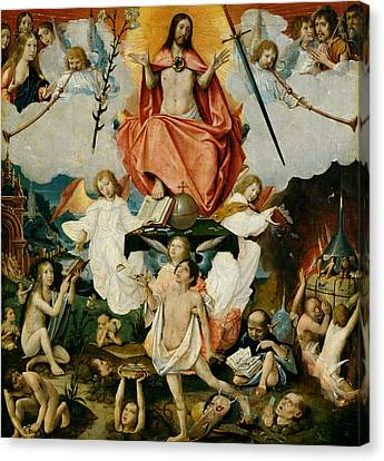The Last Judgment Canvas Print by Jan Provost