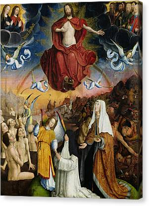 The Last Judgment Canvas Print by Jean the Elder Bellegambe