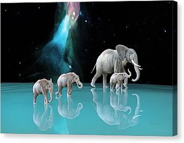 The Last Mother Canvas Print by Betsy C Knapp