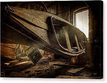 The Last Port Canvas Print by Everet Regal