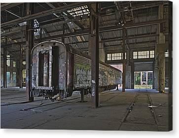 The Last Pullman Car Canvas Print by Robert Myers