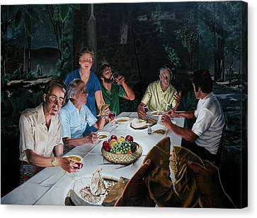The Last Supper Canvas Print by Dave Martsolf