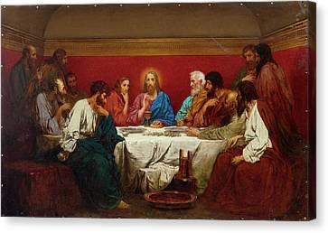 The Last Supper Canvas Print by Henryk Siemiradzki