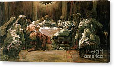 The Last Supper Canvas Print by Tissot