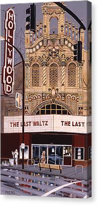 The Last Waltz Canvas Print by Mike Hill