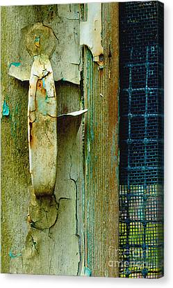 The Layers Of Yesterday Canvas Print by Michael Eingle