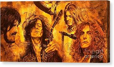 The Legend Canvas Print by Igor Postash