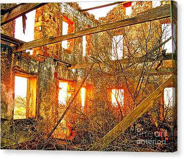 The Light Around The Body Canvas Print by Chuck Taylor
