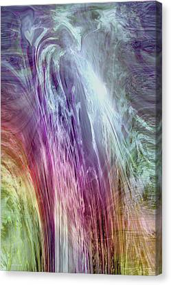 The Light Of The Spirit Canvas Print by Linda Sannuti