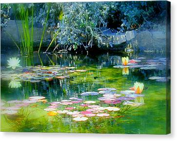 The Lily Pond I Canvas Print by Lynn Andrews