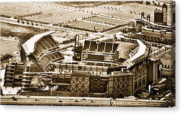 The Linc - Aerial View Canvas Print by Bill Cannon