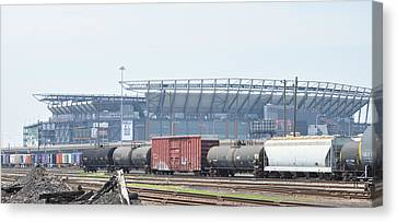 The Linc From The Other Side Of The Tracks Canvas Print by Bill Cannon