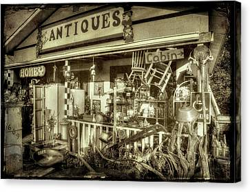 The Little Antique Store Canvas Print by Mike Eingle