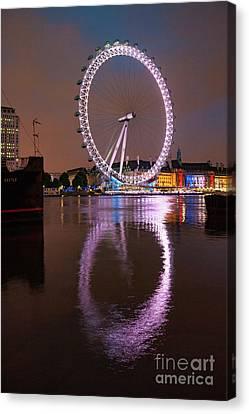 The London Eye Canvas Print by Stephen Smith
