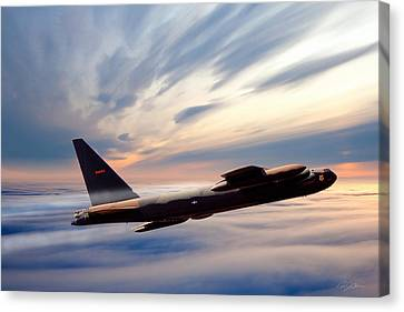 The Long Goodbye Canvas Print by Peter Chilelli