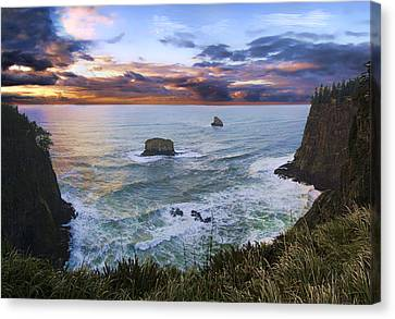 The Lookout Canvas Print by James Heckt