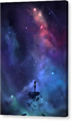 The Loss Canvas Print by Steve Goad