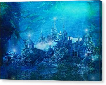 The Lost City Canvas Print by Mary Hood