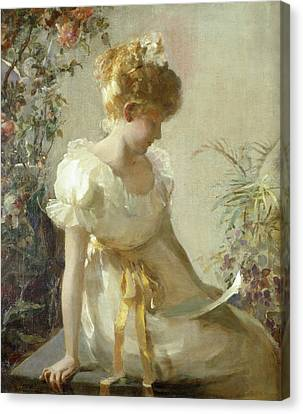 The Love Letter Canvas Print by Jessie Elliot Gorst