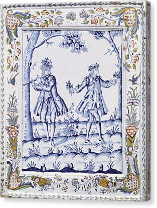 The Magic Flute Canvas Print by French School