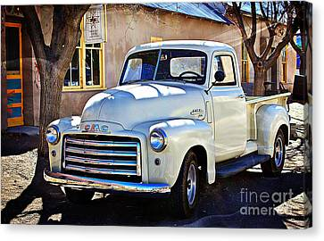 The Magic Of The 1949 Gmc 100 Canvas Print by Barbara Chichester
