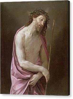 The Man Of Sorrows Canvas Print by Guido Reni