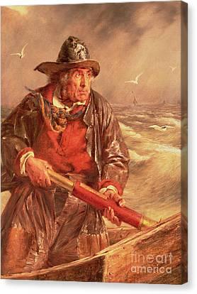 The Mariner Canvas Print by Erskine Nicol