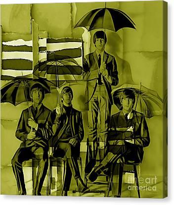The  Canvas Print by Marvin Blaine