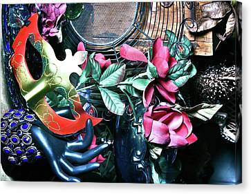 The Masks We Wear Canvas Print by Camille Lopez