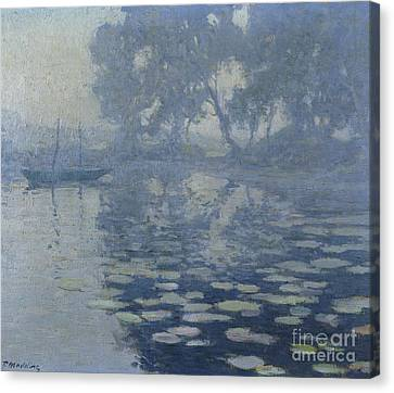 The Mill Pond Canvas Print by Paul Madeline