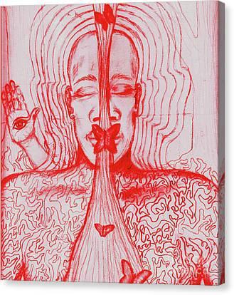 The Minds Eye Canvas Print by Elizabeth Hoskinson