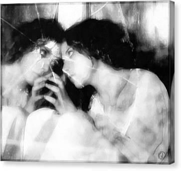 The Mirror Twin Canvas Print by Gun Legler