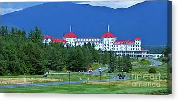 The Mount Washington Hotel Canvas Print by Barbara S Nickerson