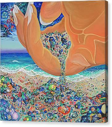 The Multiverses Canvas Print by Marika Segal