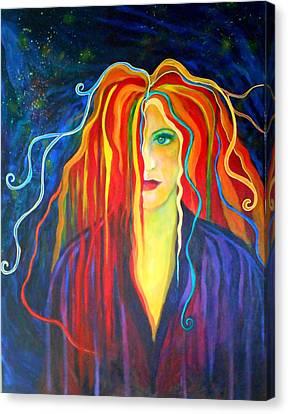 Melt Down Canvas Print by Carolyn LeGrand