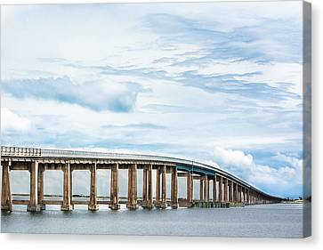 The Navarre Bridge Canvas Print by Shelby Young
