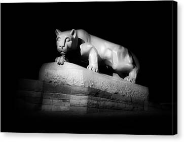 The Nittany Lion Of P S U Canvas Print by Pixabay