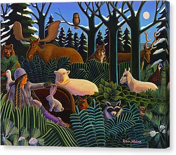 The North Woods Dream Canvas Print by Robin Moline