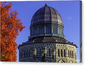 The Nott Memorial Building Canvas Print by Garry Gay