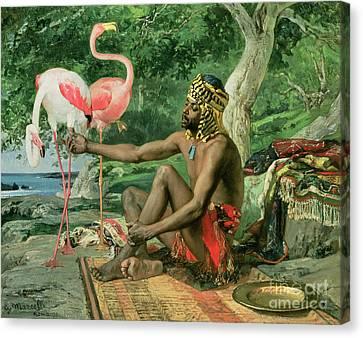 The Nubian Canvas Print by Georgio Marcelli