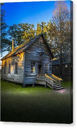 The Old Church Canvas Print by Marvin Spates