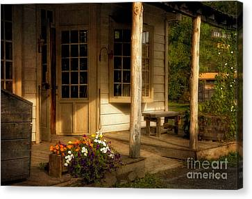 The Old General Store Canvas Print by Lois Bryan