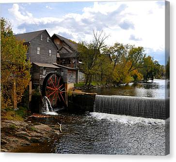 The Old Mill Canvas Print by Brittany H