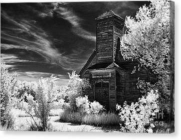 The Old Wood Church  Canvas Print by Jeff Holbrook