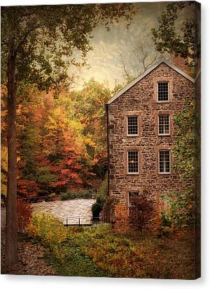 The Olde Country Mill Canvas Print by Jessica Jenney